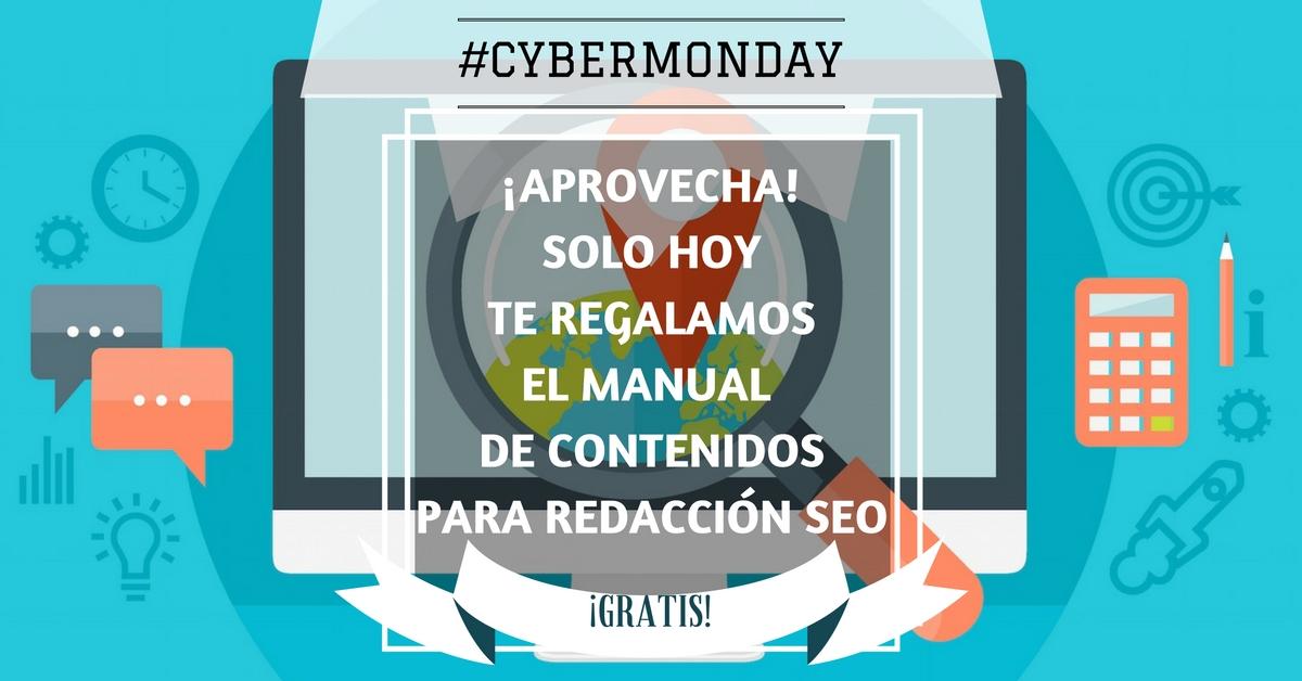 manual de contenidos cybermonday