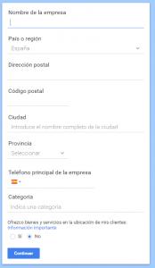 Configurar Google Maps