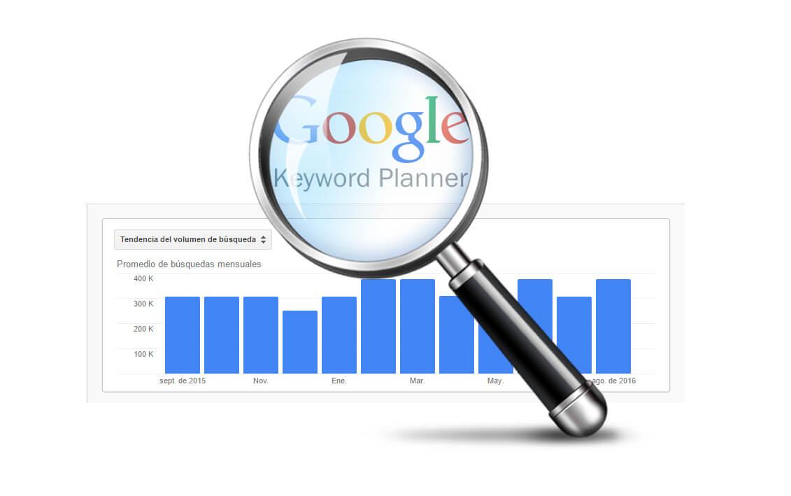 Cambios planificador de palabras clave Google