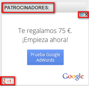 Publicidad en Google (Banner display de flash)