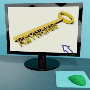 Google web positioning -Keywords- target key words