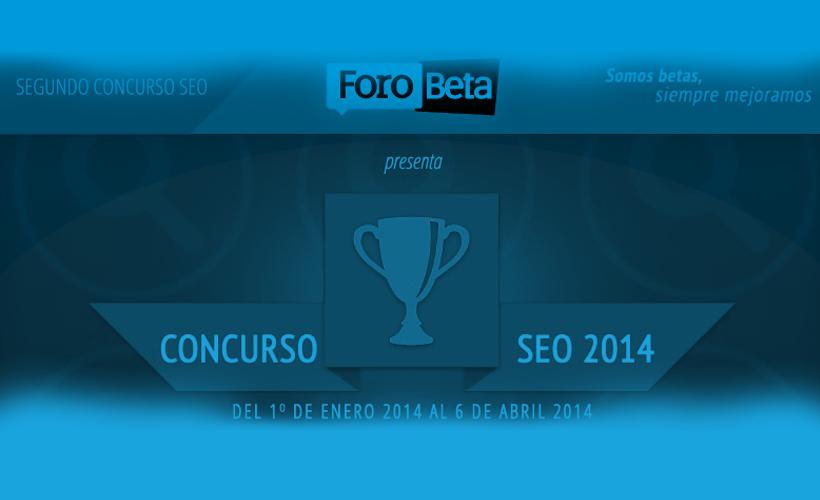 Concurso SEO Forobeta 2014