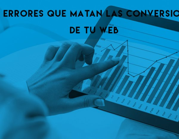 errores conversiones web