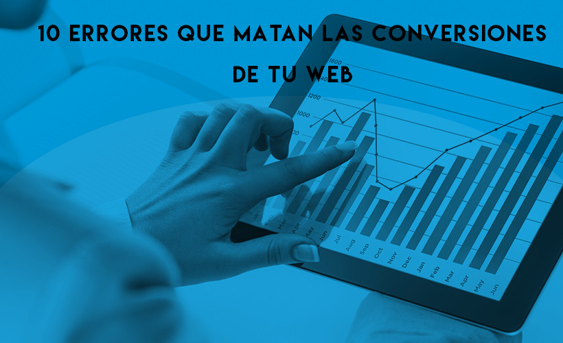 errores conversiones web