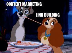 hacer link building y content marketing
