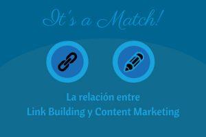 relación entre link building y content marketing