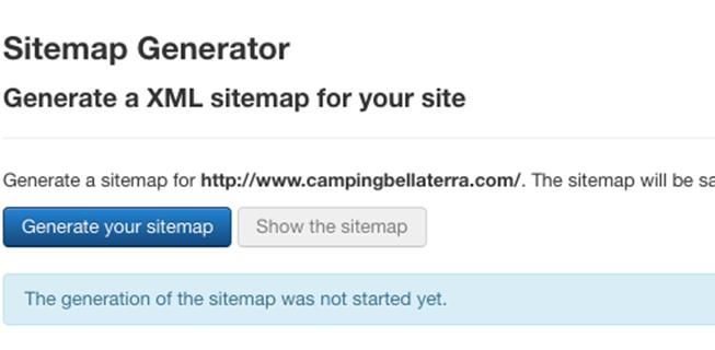 Sitemap Joomla