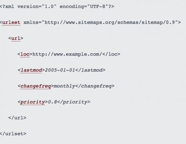 Sitemap XML