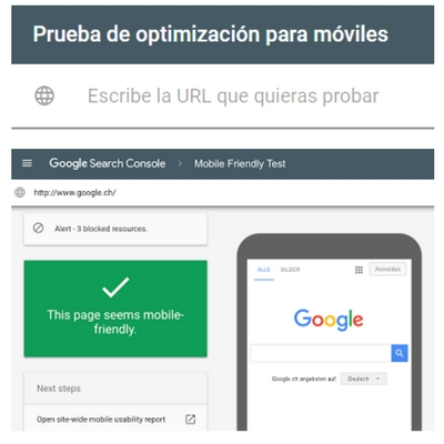 optimizacion google search console