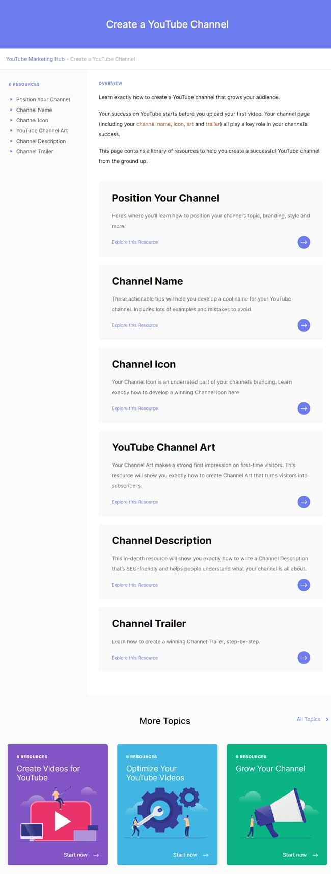 ejemplo cluster de contenido
