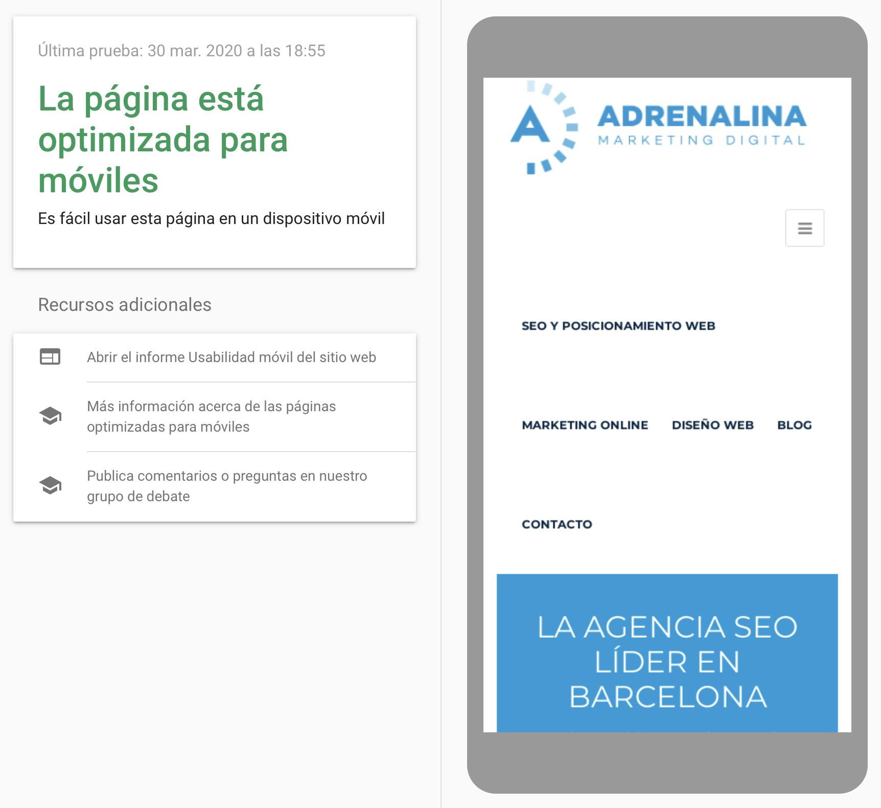 ¿Tu página web está optimizada para móviles?