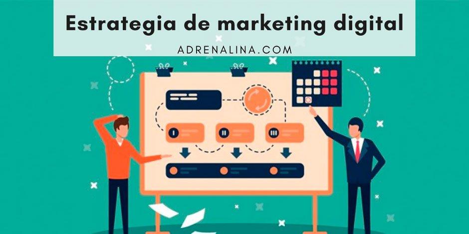 como realizar una estrategia de marketing digital