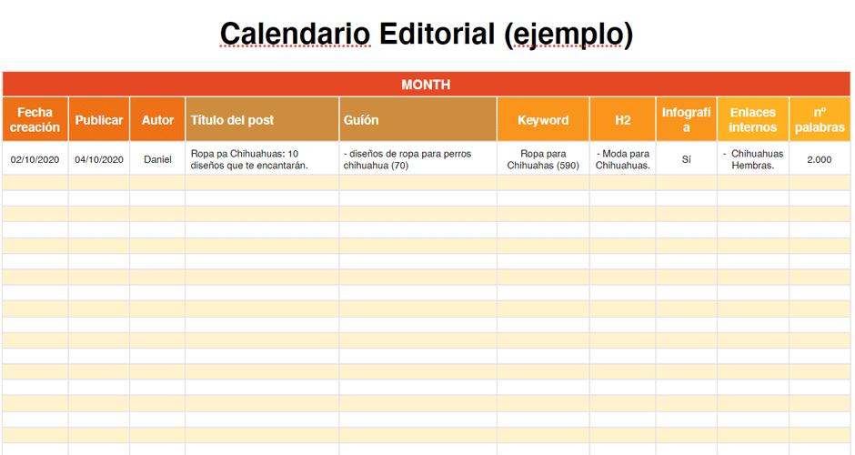 ejemplo calendario editorial