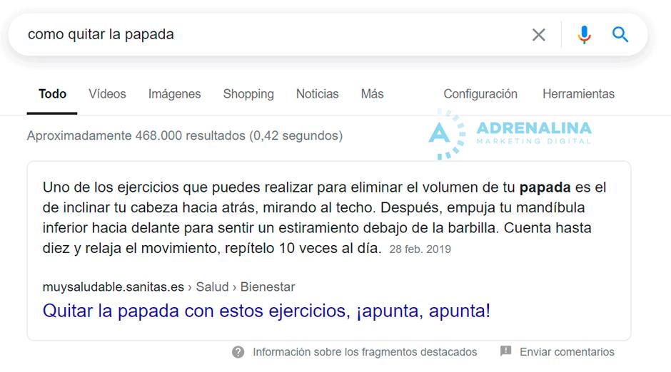 articulo informativo google