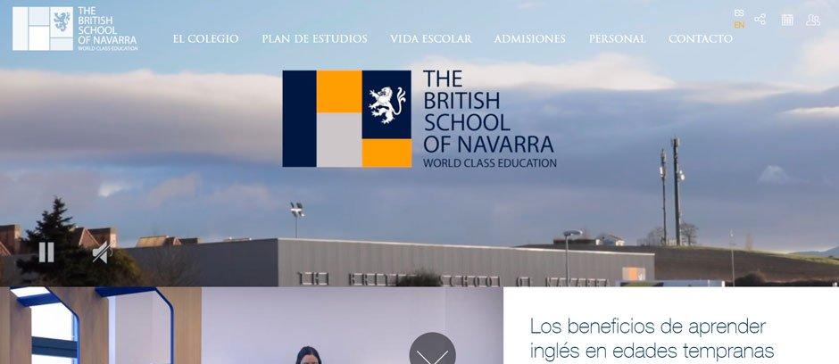 diseño web colegios