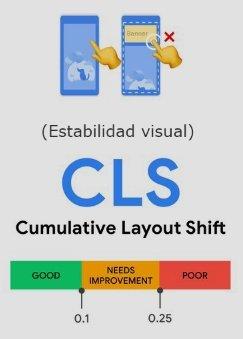 estabilidad visual web
