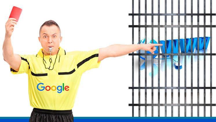 mal posicionamiento google