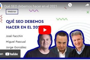 seo 2021 webinar