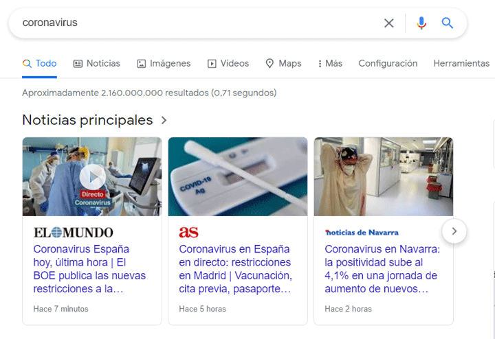 noticias principales google