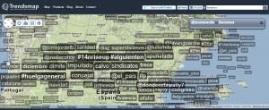 Herramienta Social Media Trendsmap