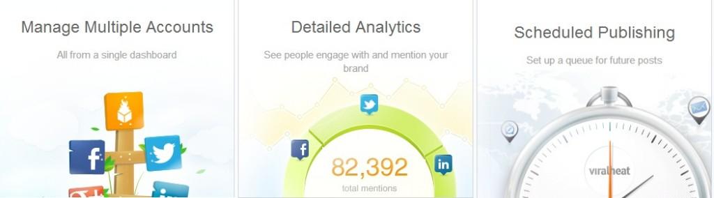 Herramientas Social Media: viralheat