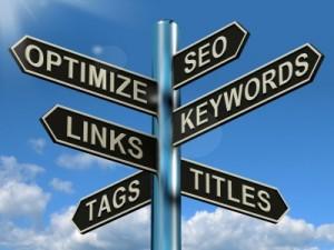 Posicionamiento web en google - Encrucijada en la guia SEO