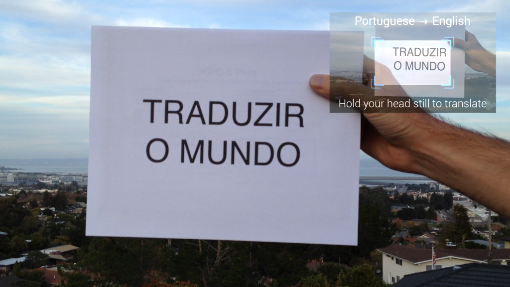 google glass translate