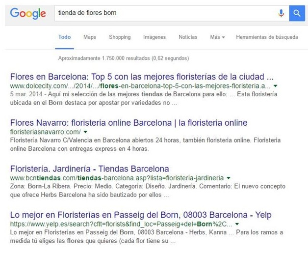 google links locales seo