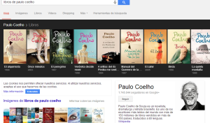 Knowledge Graph libros de un autor