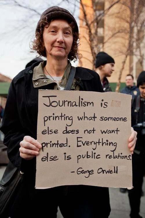 periodismo orwell