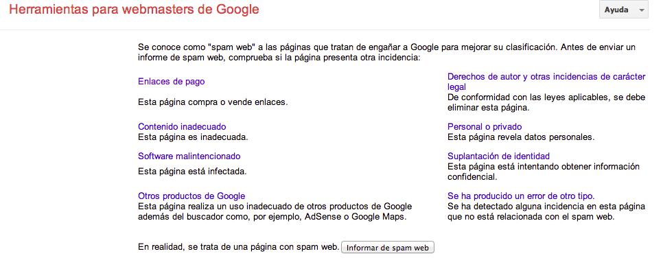 spam-web