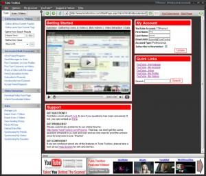 Herramienta Social Media - tube toolbox